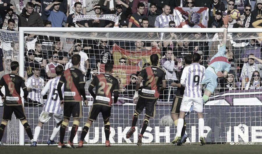 El Valladolid es el favorito del partido en Vallecas