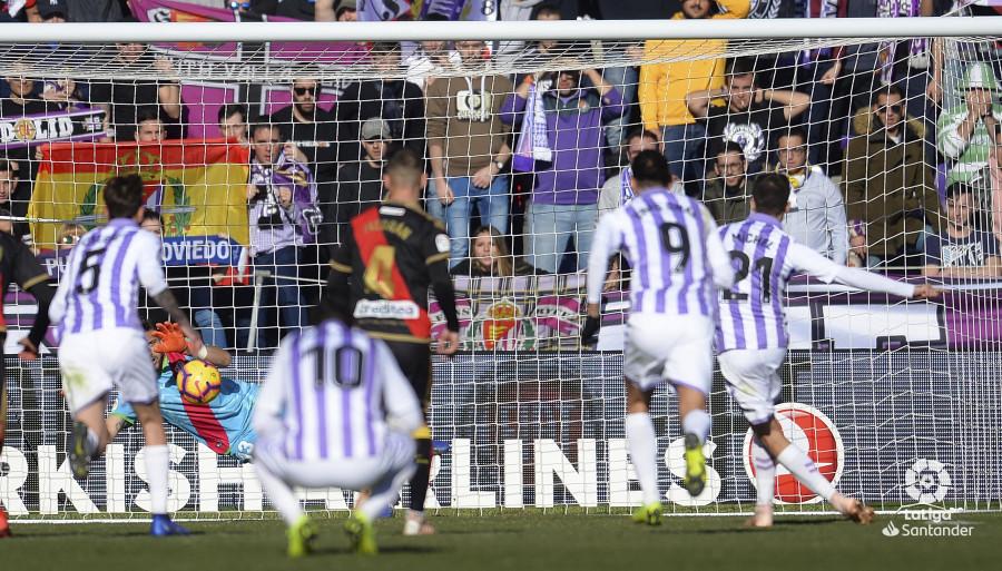 El Rayo se impuso en Zorrilla ante un buen Valladolid