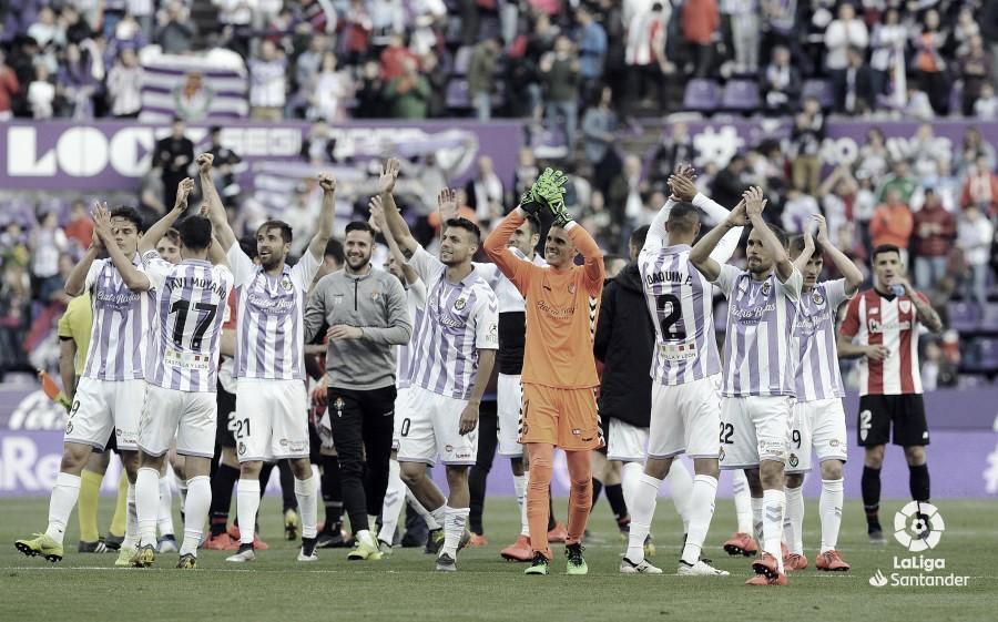 Real Valladolid - Athletic Club de Bilbao, puntuaciones del Real Valladolid, jornada 36 de la Liga Santander