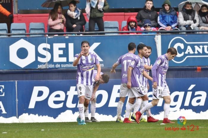 El Real Valladolid vuelve a perder a domicilio