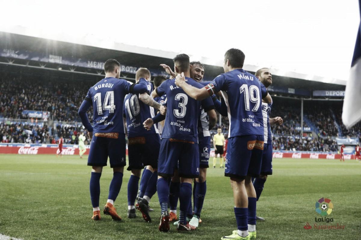 El Alavés y el punto de penalti amargan al 'Geta'