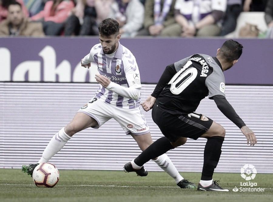 El Pucela recibe un duro mazazo ante el Sevilla