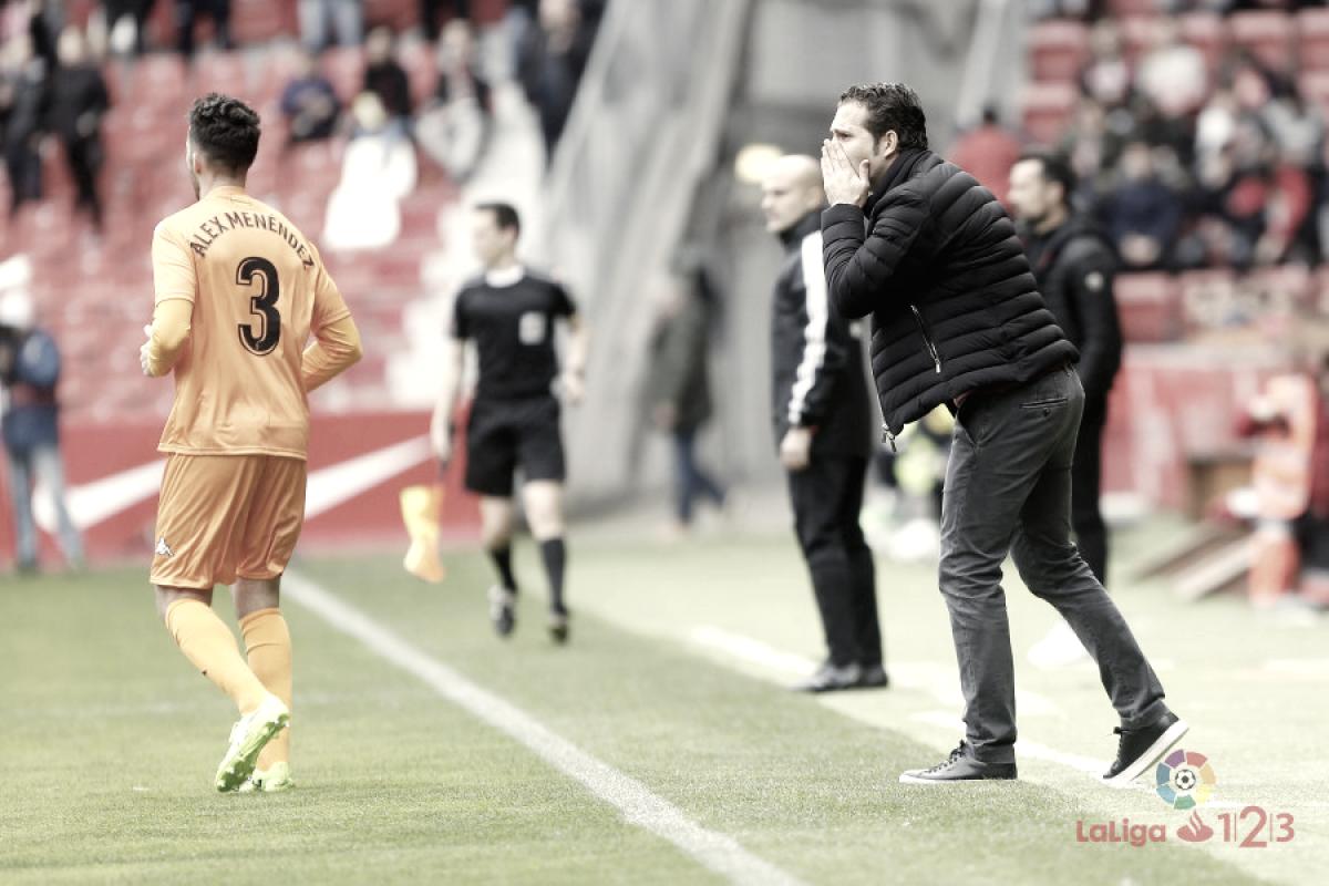 """Rubén Baraja: """"Hemos sufrido, pero hemos sabido aguantar y llevarnos el partido"""""""