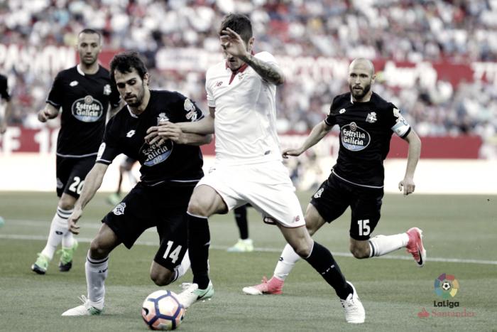Resumen Sevilla vs Deportivo de La Coruña en LaLiga 2017