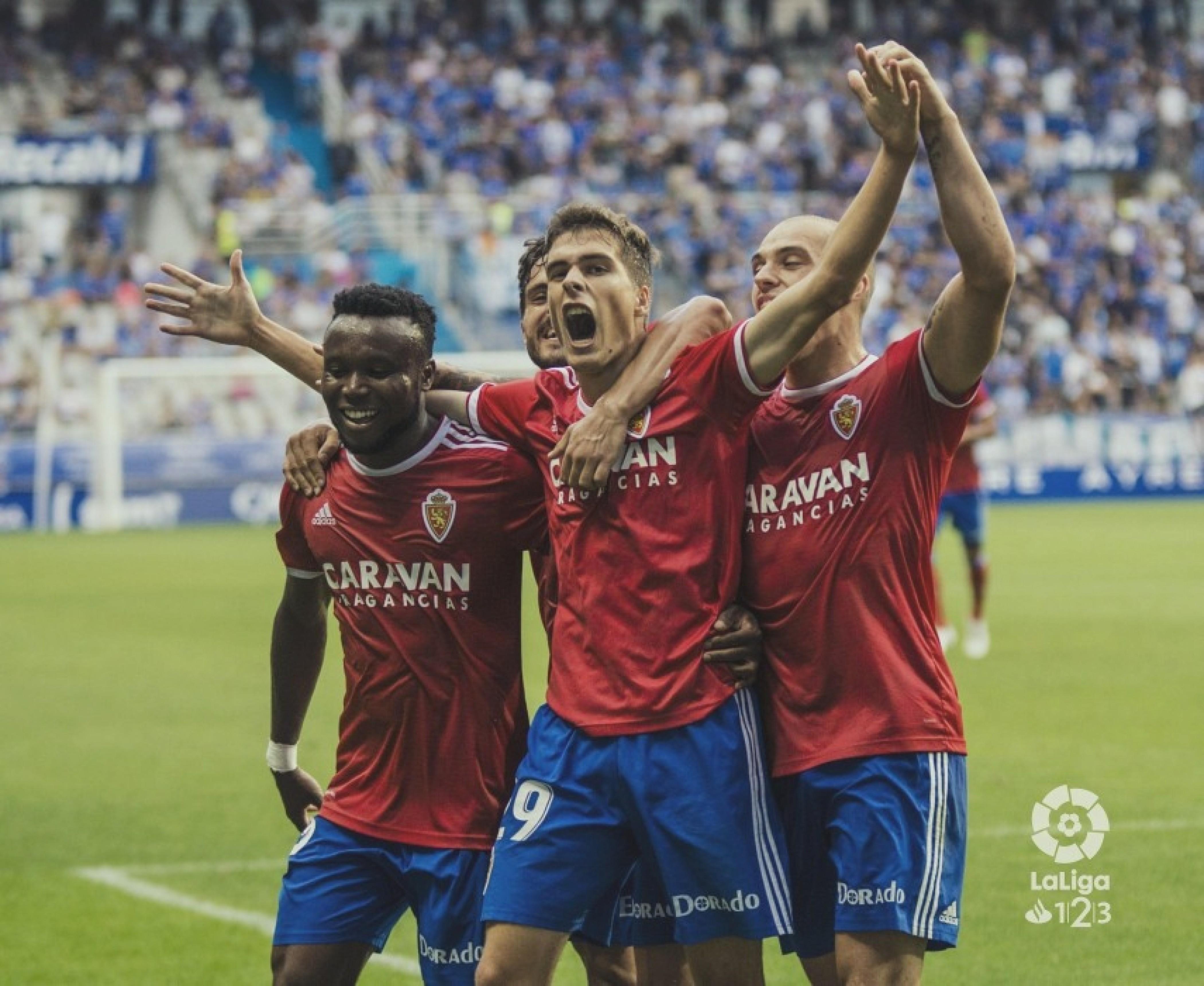 Real Oviedo – Real Zaragoza: puntuaciones Real Zaragoza, jornada 4 de Segunda División