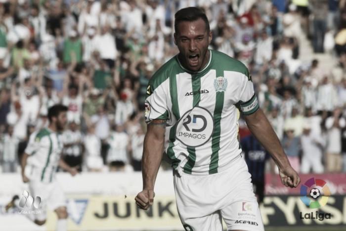 Córdoba vence Girona com dois de Xisco e adquire vantagem nos playoffs da Liga Adelante