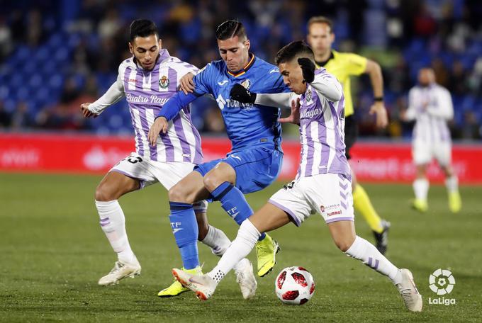 Mucho equilibrio en los encuentros entre Getafe y Real Valladolid