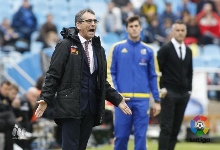 """Vázquez: """"Hay que hacer bueno este punto ante el Lugo"""""""