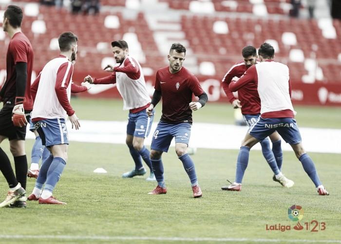 Real Sporting - CD Numancia: Puntuaciones Sporting, jornada 26 de La Liga 1 2 3