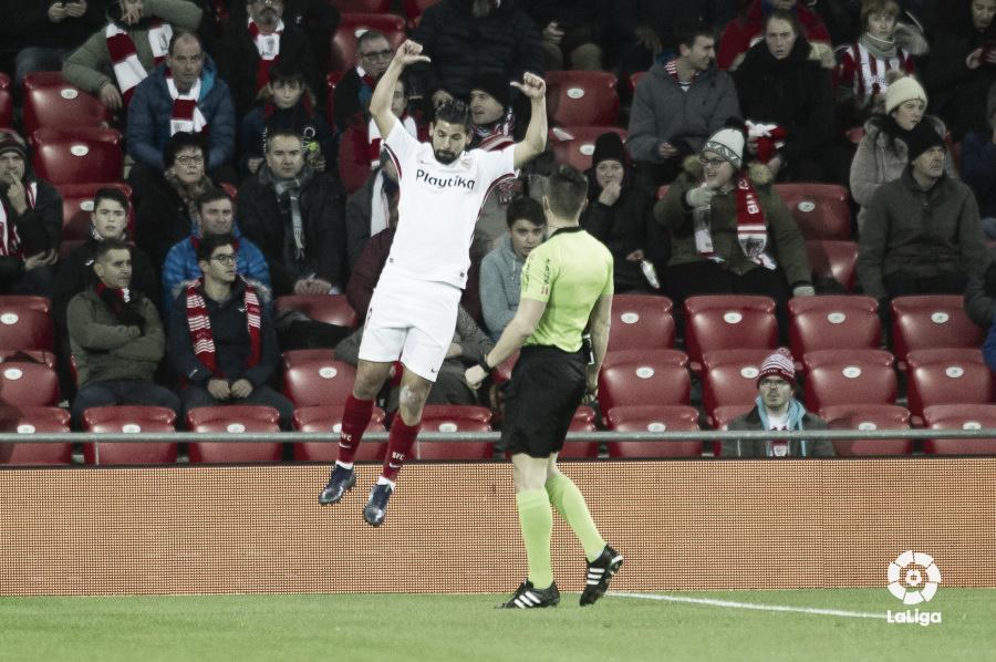 Bilbao es testigo de que el Sevilla quiere LaCopa