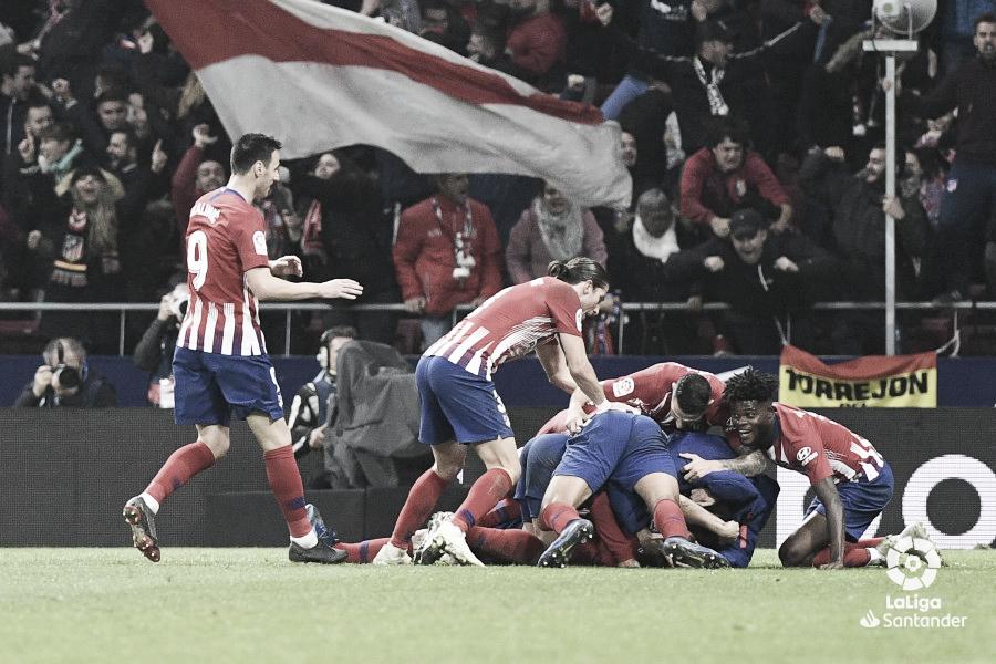 Atlético de Madrid vs Athletic Club de Bilbao; puntuaciones del Atlético de Madrid, jornada 12 LaLiga Santander