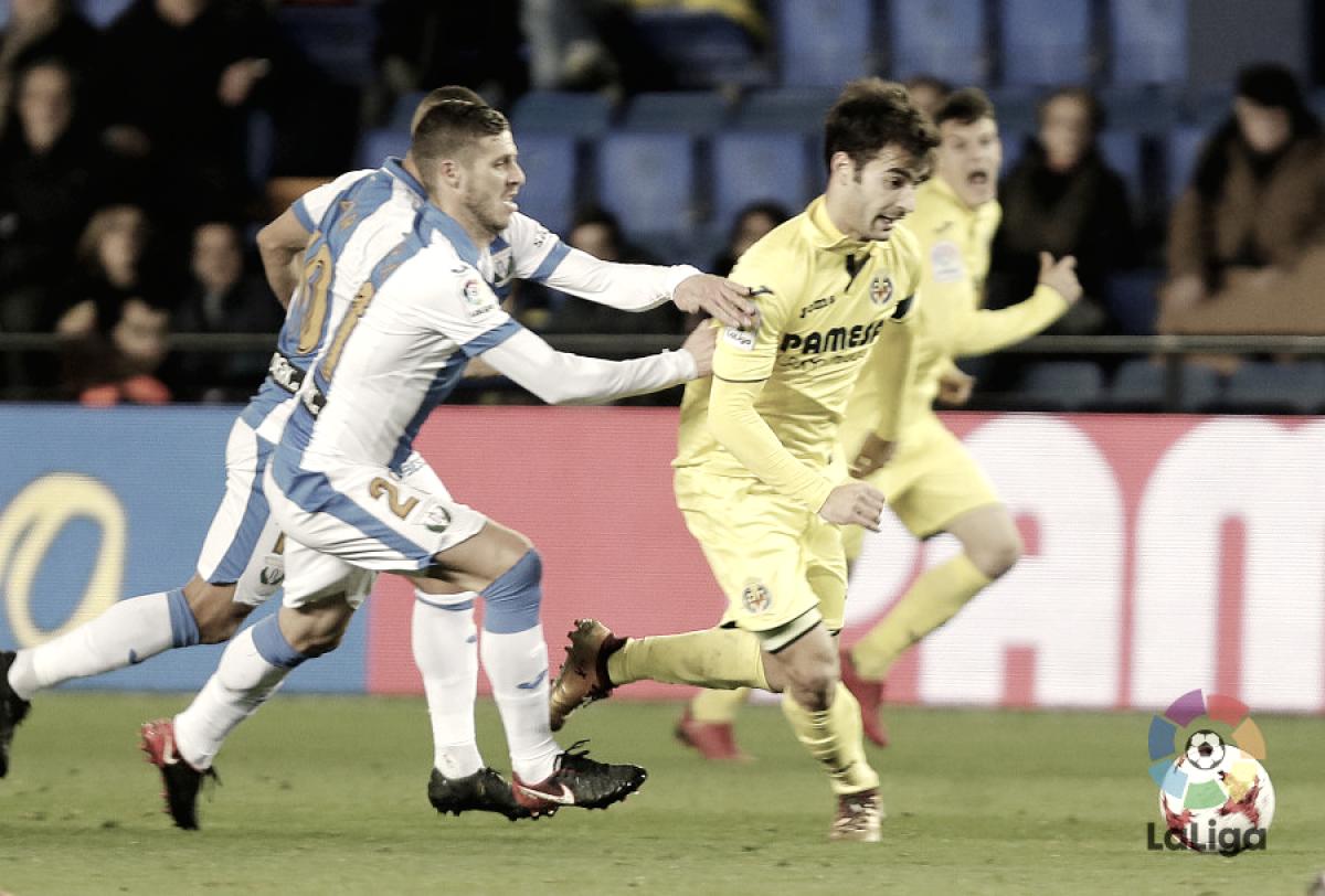 Un Villarreal superior acaba sufriendo ante el Leganés
