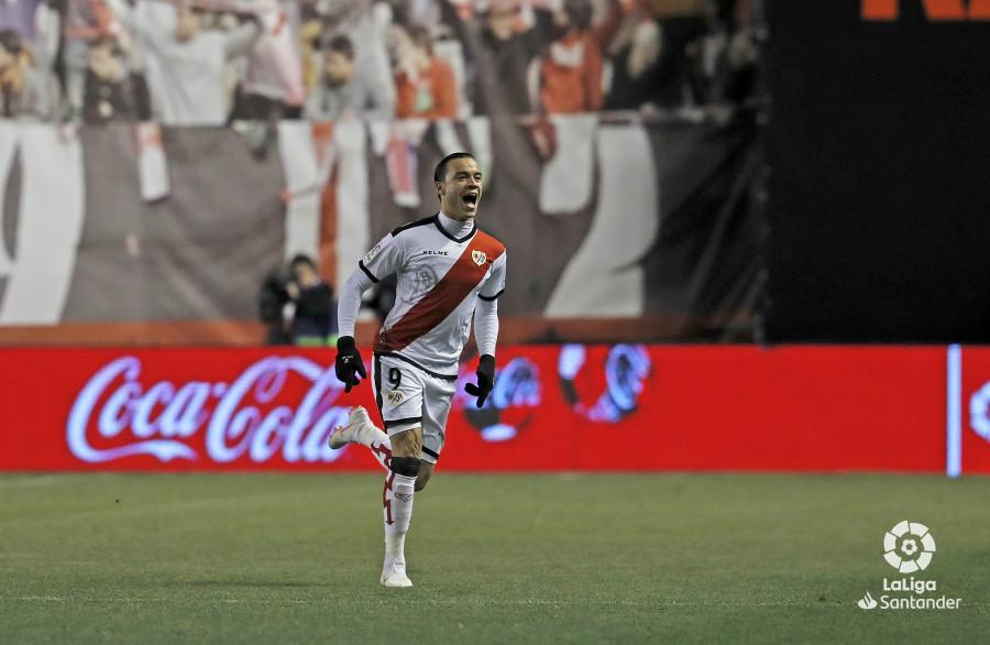 Raúl de Tomás, nominado como mejor jugador de enero