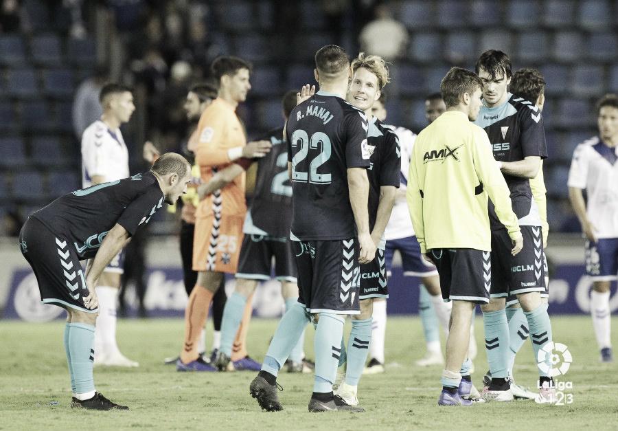 Un CD Tenerife herido continúa sin reaccionar