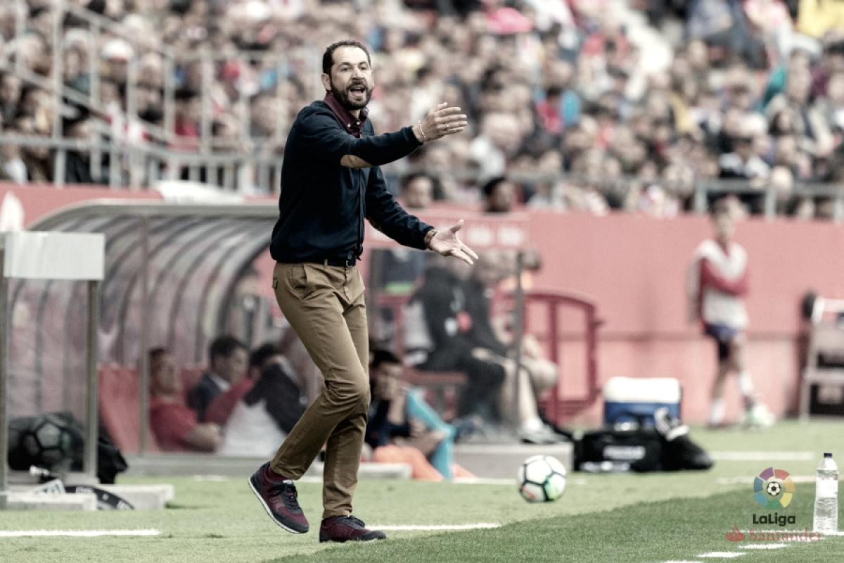 """Pablo Machín: """"Espero que hayan disfrutado con el equipo"""""""