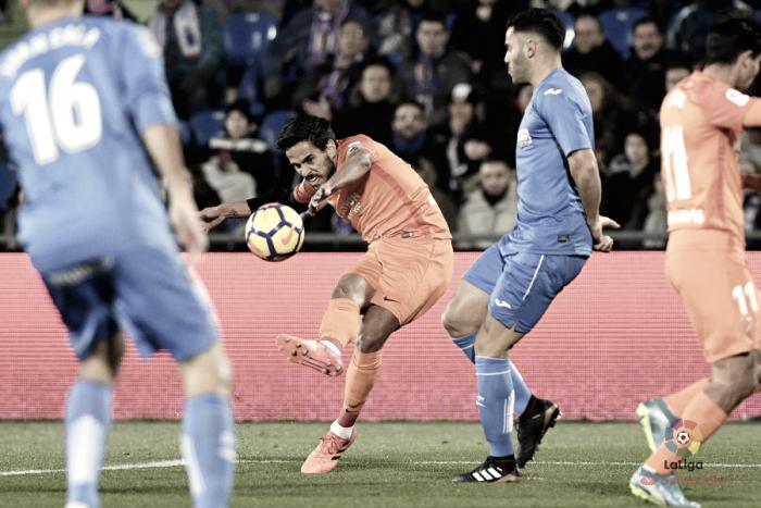 Getafe - Málaga CF: puntuaciones del Málaga, jornada 19 de LaLiga