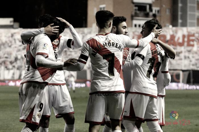 Rayo Vallecano - Real Oviedo: puntuaciones del Rayo Vallecano, jornada 22ª Segunda División