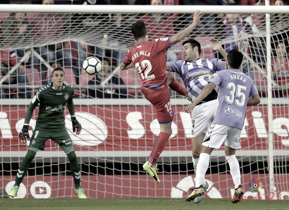 Numancia - Real Valladolid: puntuaciones del Real Valladolid en la final de los 'playoffs' de la Liga 1 2 3