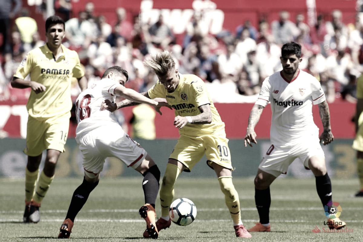 Sevilla-Villarreal: puntuaciones Villarreal, jornada 32 LaLiga