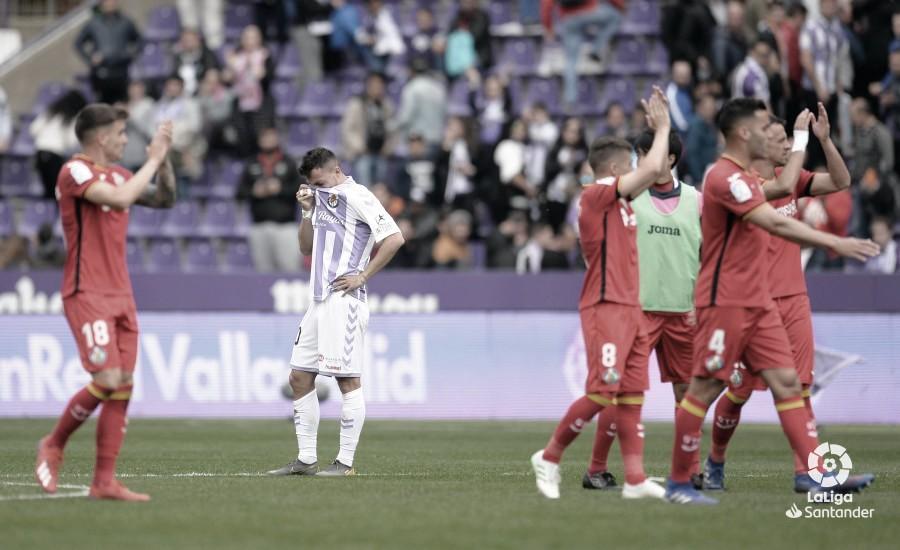 Real Valladolid - Getafe: puntuaciones del Real Valladolid en la jornada 32 de la Liga Santander