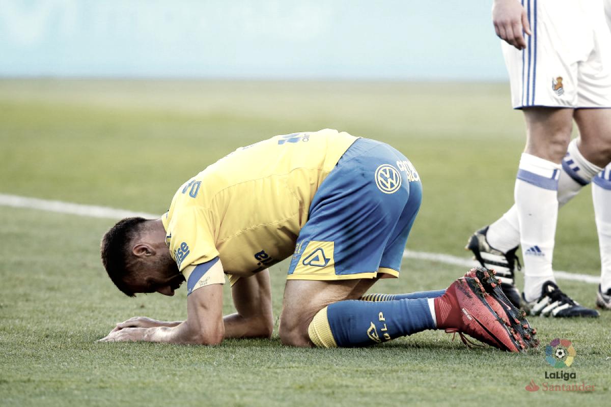 Diez partidos perdidos en casa para la UD Las Palmas