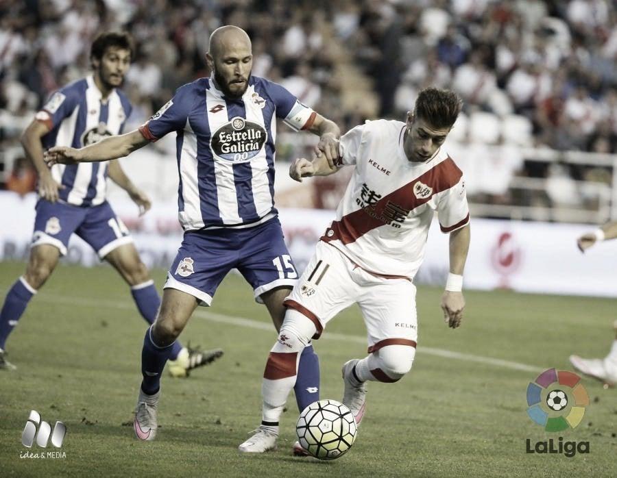 Rayo - Deportivo, 1 de septiembre a las 18:00 horas
