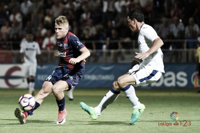 Huesca busca empate no fim e disputa por acesso contra Getafe segue aberta