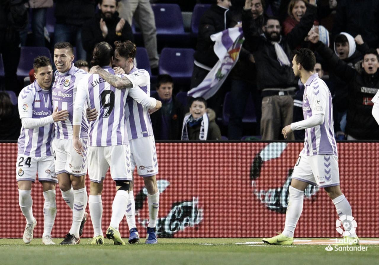 El Real Valladolid da la cara pero pierde con honor ante el Atlético de Madrid