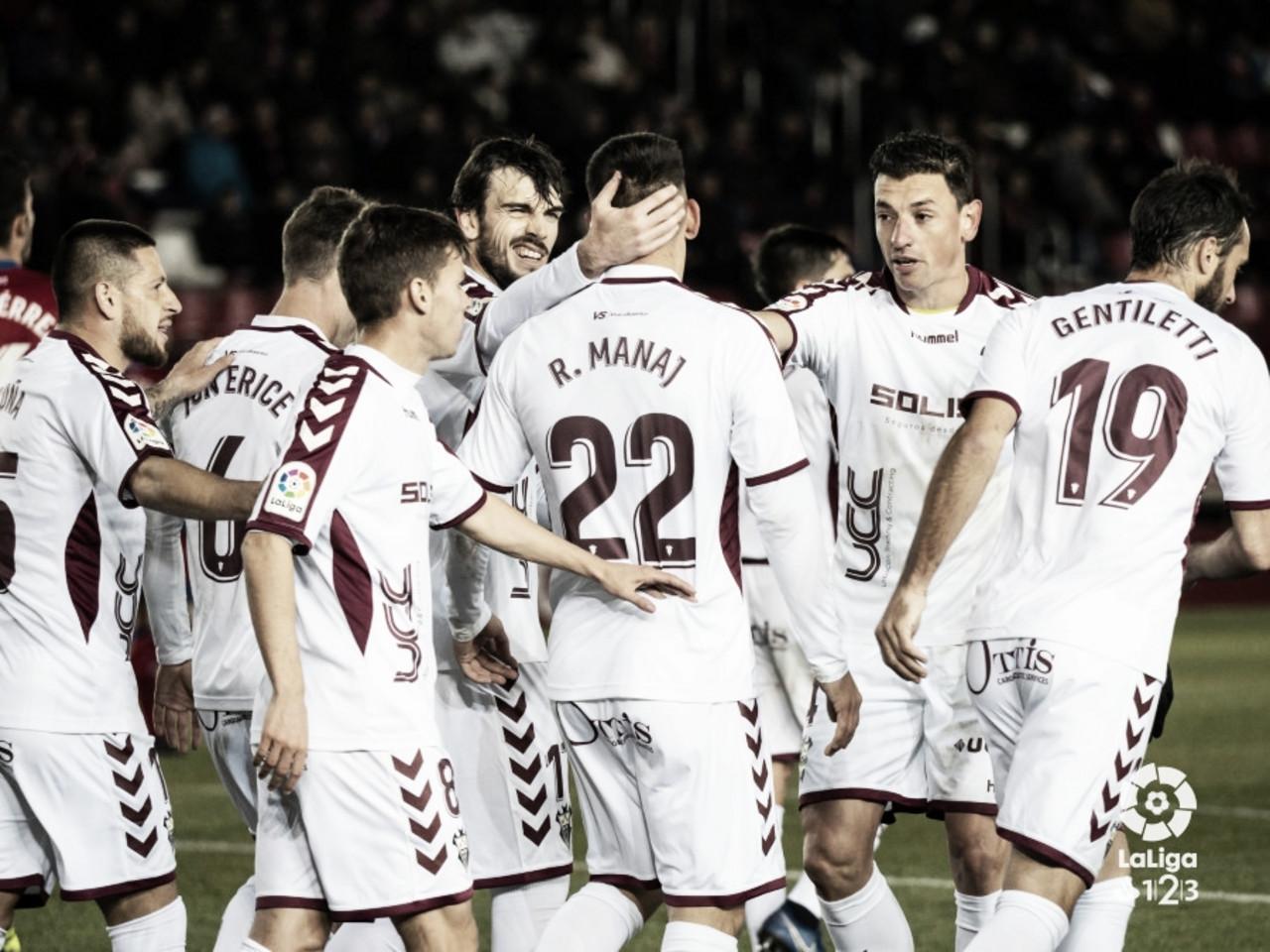 El Albacete intentará cerrar el año con una victoria en casa.