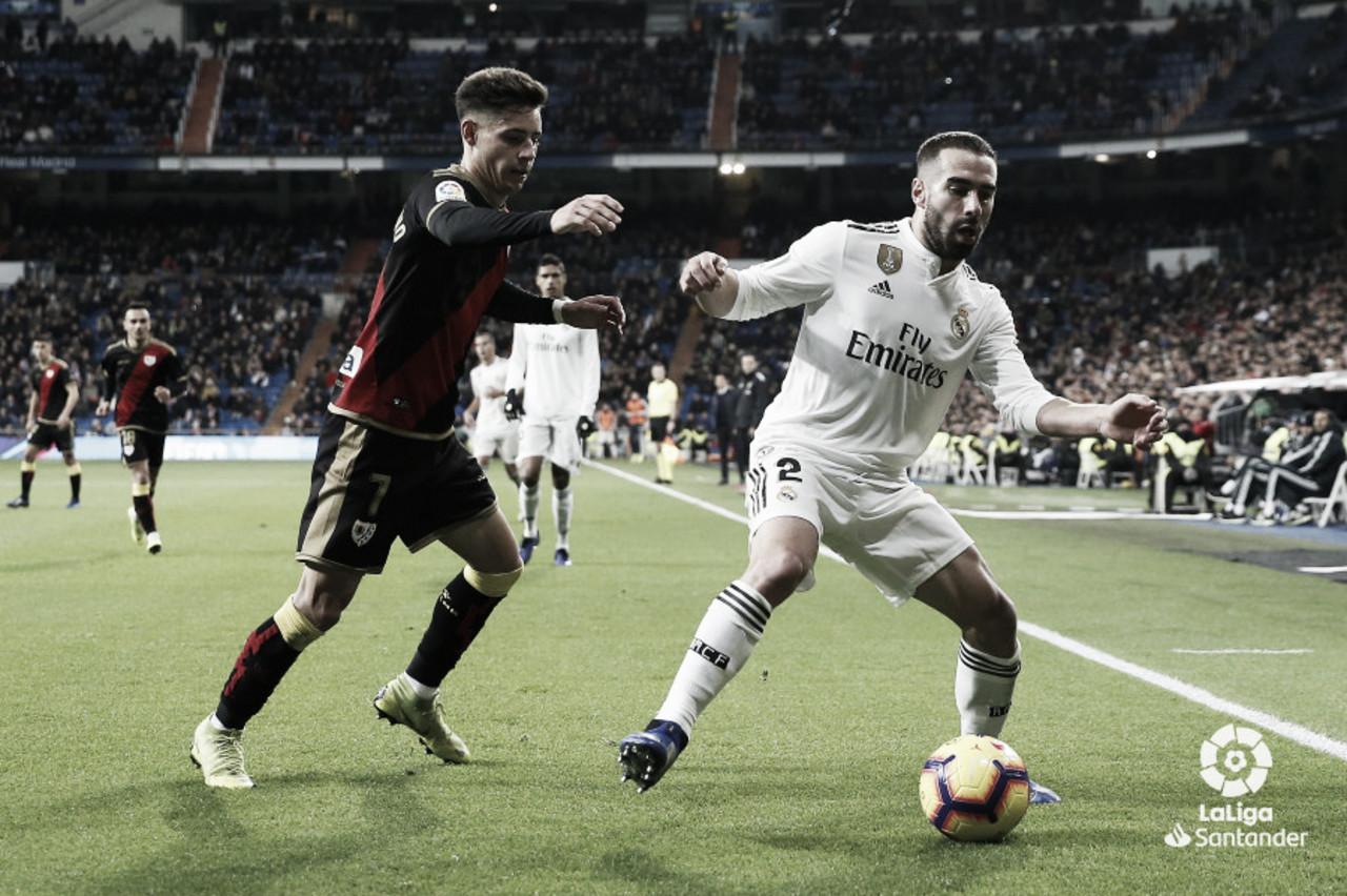 ¿Hubo penalti sobre Álex Moreno?