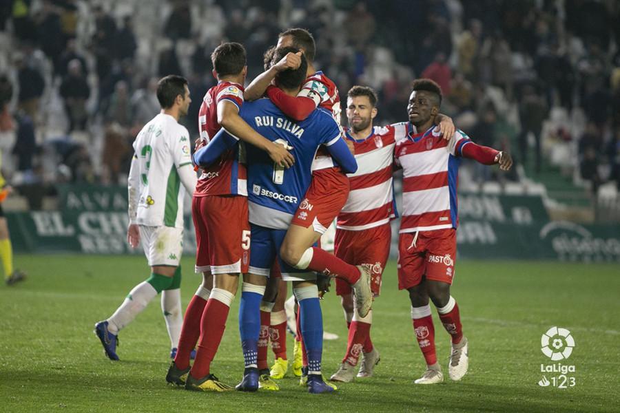 Córdoba CF - Granada CF: puntuaciones del Granada CF, jornada 26 de la Liga 123