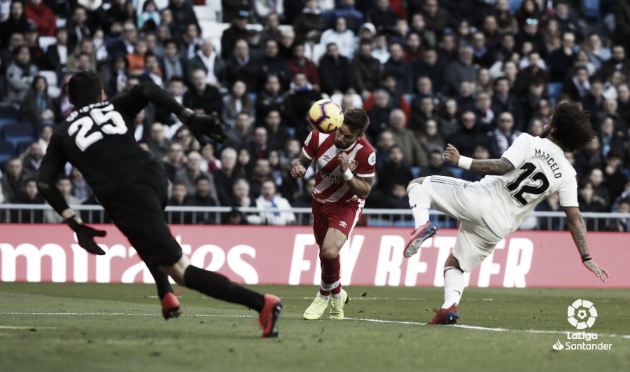 Resumen del Real Madrid vs Girona (1-2)