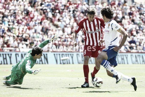 Girona F.C. – Real Zaragoza: puntuaciones del Real Zaragoza, jornada 38