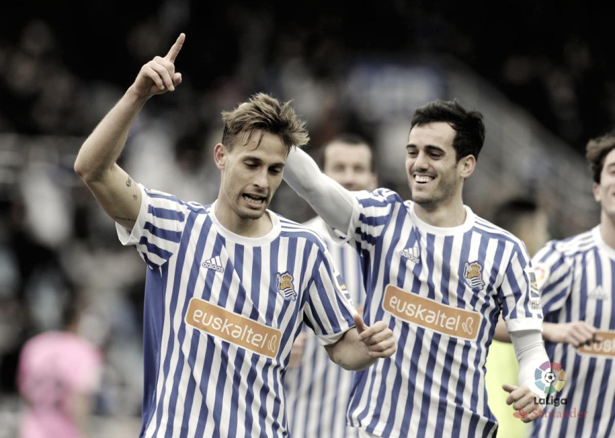 Real Sociedad vs Levante: puntuaciones de la Real Sociedad, jornada 24 de LaLiga