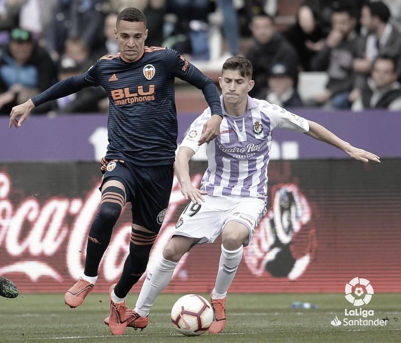 Toni Villa, elegido mejor jugador por la afición ante el Valencia