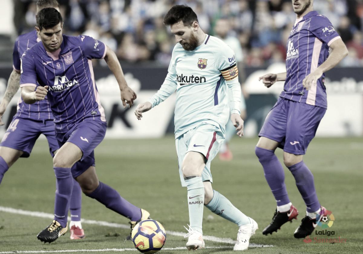 El Leganés quiere lograr la gesta en el Camp Nou