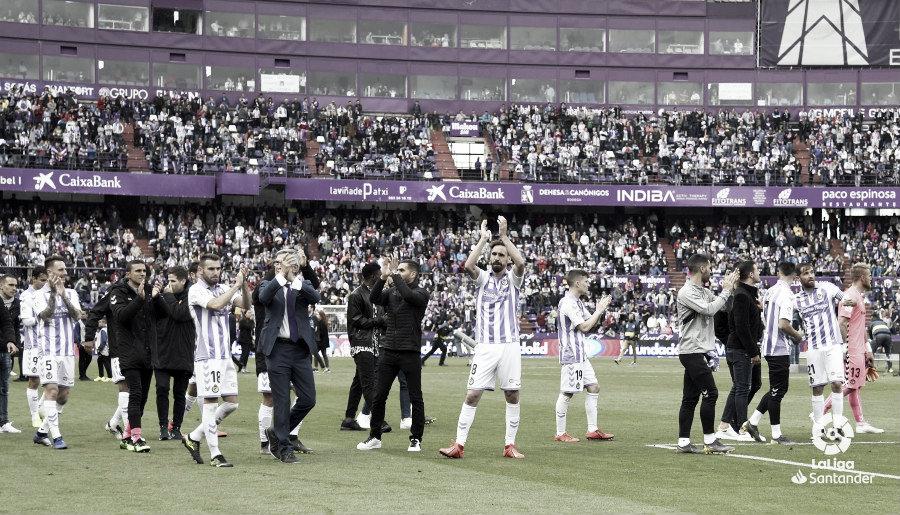 El Real Valladolid cae frente a un Valencia de Champions