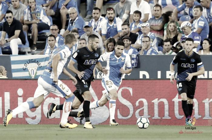 Deportivo Alavés vs CD Leganés en vivo y en directo online en LaLiga 2018