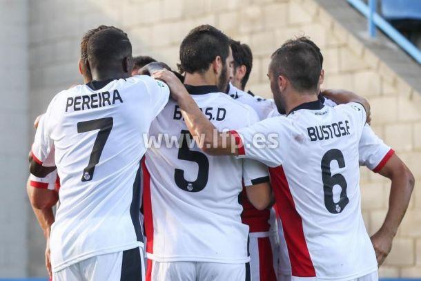 Primera victoria de la temporada del Mallorca fuera del Iberostar Estadi