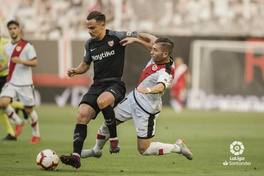 El Rayo visitará al Sevilla en la jornada 34
