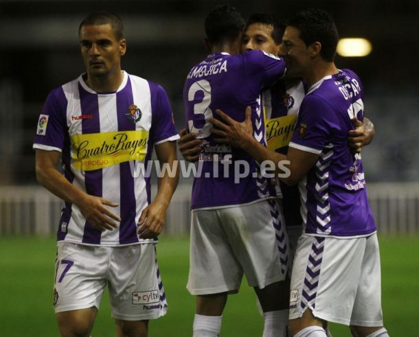 La carrera hacia Primera: el Real Valladolid no baja lo brazos