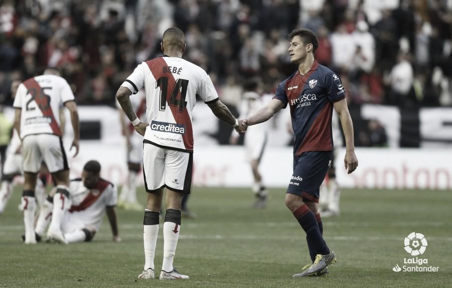Rayo - Huesca: un choque clave en el que se repartieron los puntos