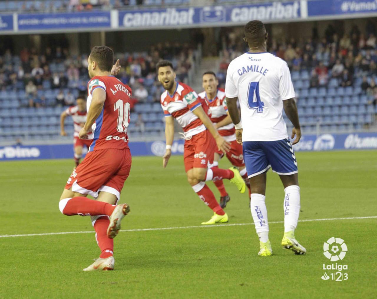Tenerife – Granada CF: puntuaciones del Granada, jornada 19 de La Liga 1|2|3