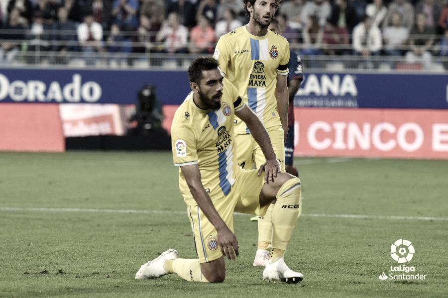 El Espanyol consigue la primera victoria a domicilio de la temporada