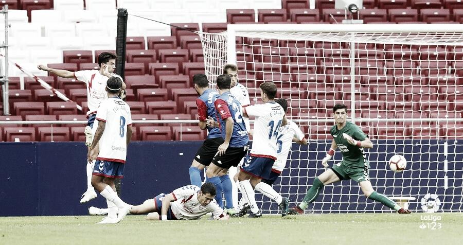 Resumen del Extremadura UD 1-1 Rayo Majadahonda en LaLiga 1|2|3