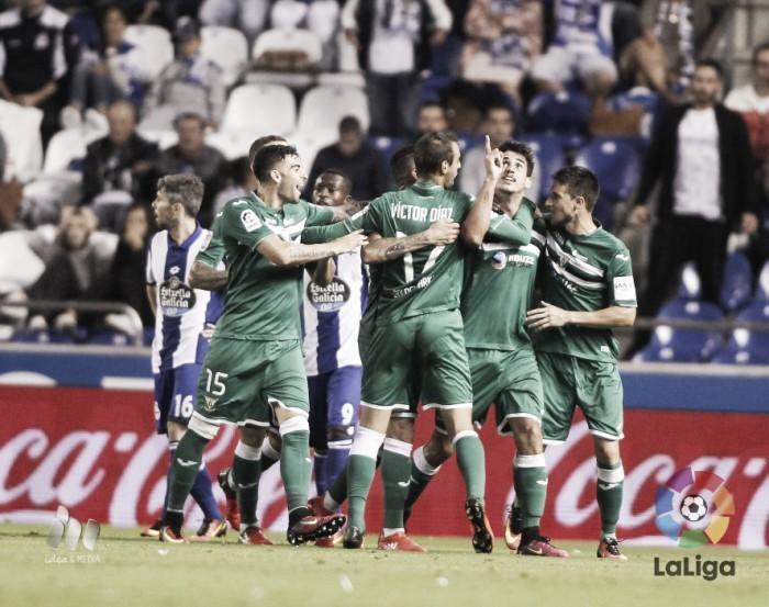 Resumen Deportivo 1-0 Leganés en La Liga Santander 2017