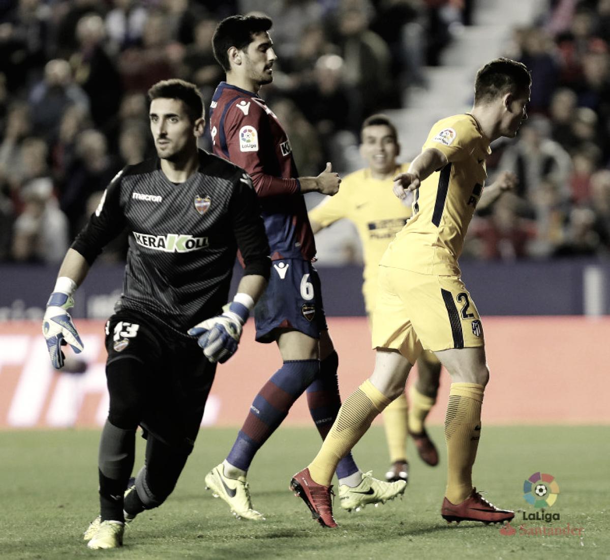 ¿Qué pasó en los anteriores Atlético de Madrid-Levante?