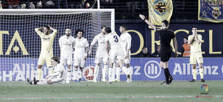 Horario, dónde ver y árbitro del Real Madrid vs Villarreal