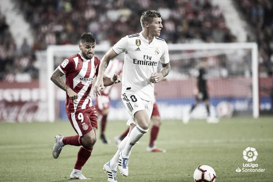 Horario y dónde ver en vivo el Real Madrid - Girona de La Liga por TV