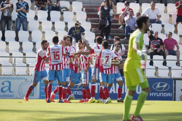 Resultado Osasuna - Lugo en la Liga Adelante 2015 (4-0)